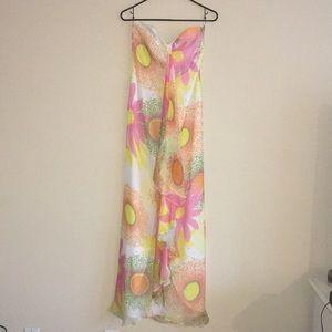 🔻Original Milly of New York Strapless Maxi Dress